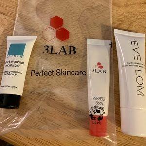 Eve Lom, Lather and 3lab sample bundle